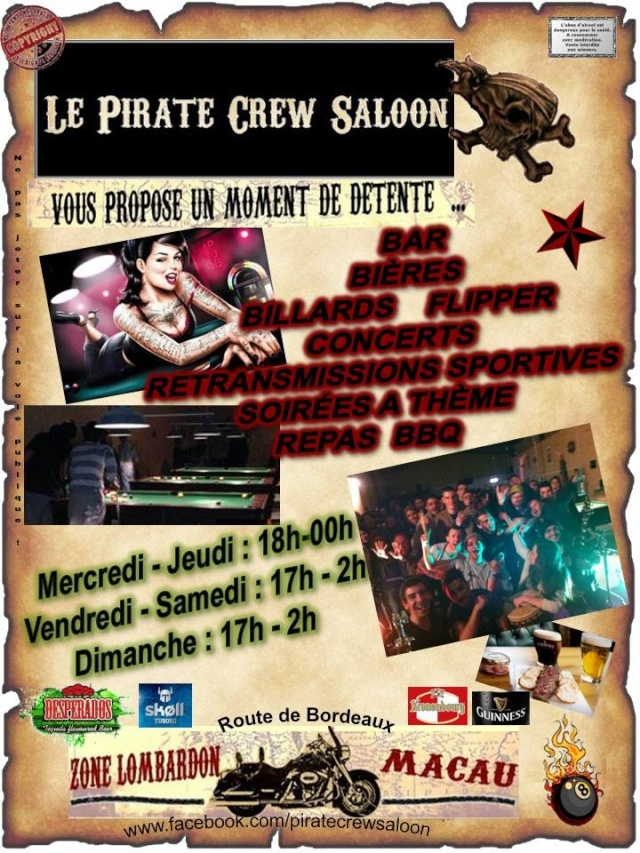 Le Pirate Crew Saloon a Macau 15444510