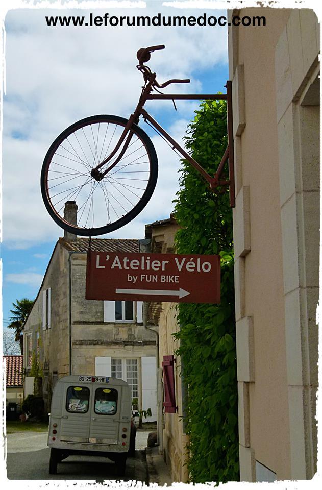 Bages Le Village vu par Forum du Médoc 19823110