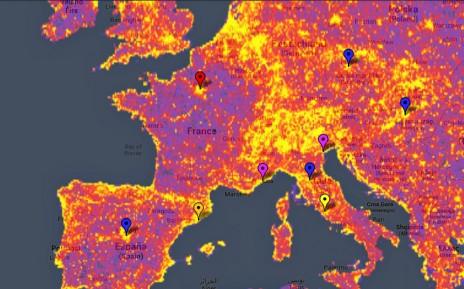 La carte des lieux les plus photographiés dans le Médoc Carte-10