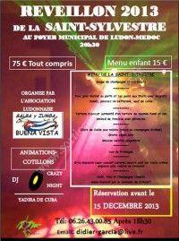 Réveillon 2013 de la Saint-Sylvestre le 31 Décembre 2013 à Ludon Médoc Dbb85010
