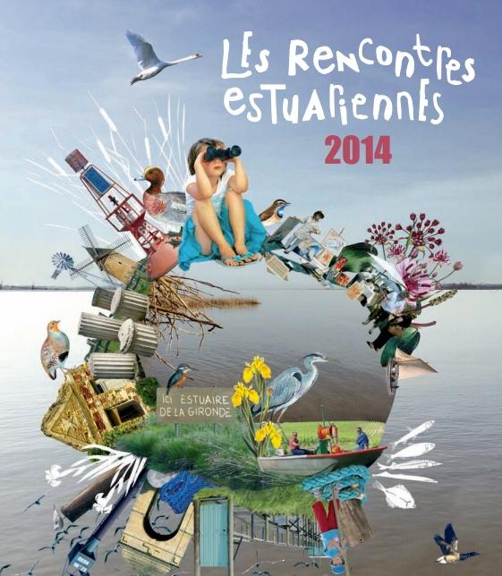 Exposition Naufragés et lamproies par Arno du 1er au 31 Mai 2014 au Point info Tourisme de Lamarque Estu_t10