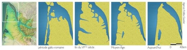 Comprendre l'érosion de la côte Médocaine  Evolut10