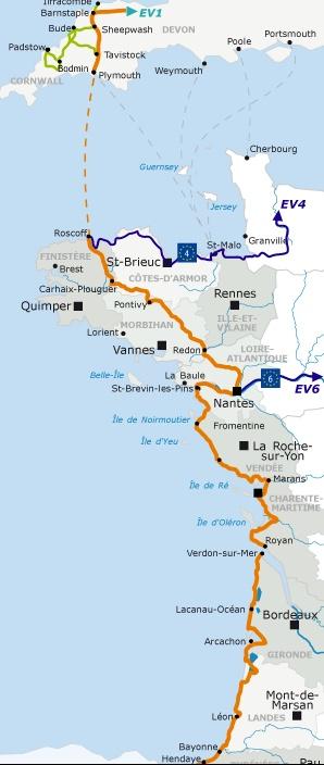 La Vélodyssée, plus de 1400 km à vélo le long de l'Atlantique Velodi10