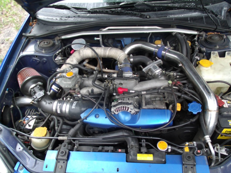 2003 wrx Track Attack Build Engine10