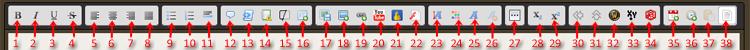 Forums- und Beitragsfunktionen Editor10