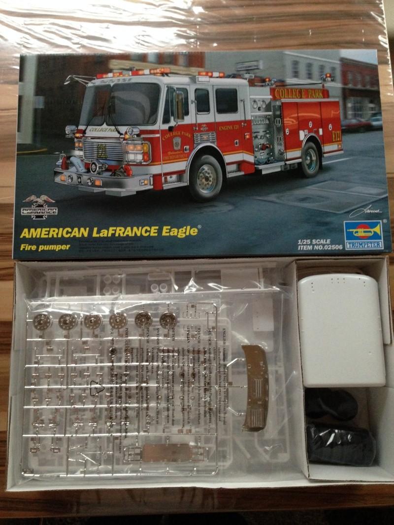 American LaFrance Eagle Fire Pumper 1:25 (Trumpeter) Img_9123