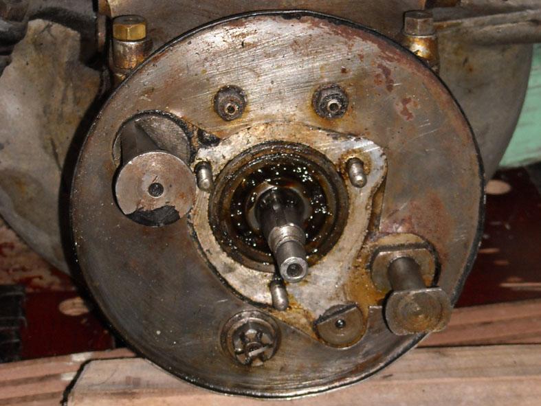 demontage boite de vitesse Boite210