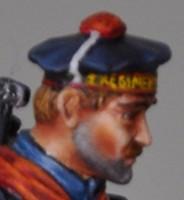 14-18 Fusilier Marin de Métal Modèles Visge212