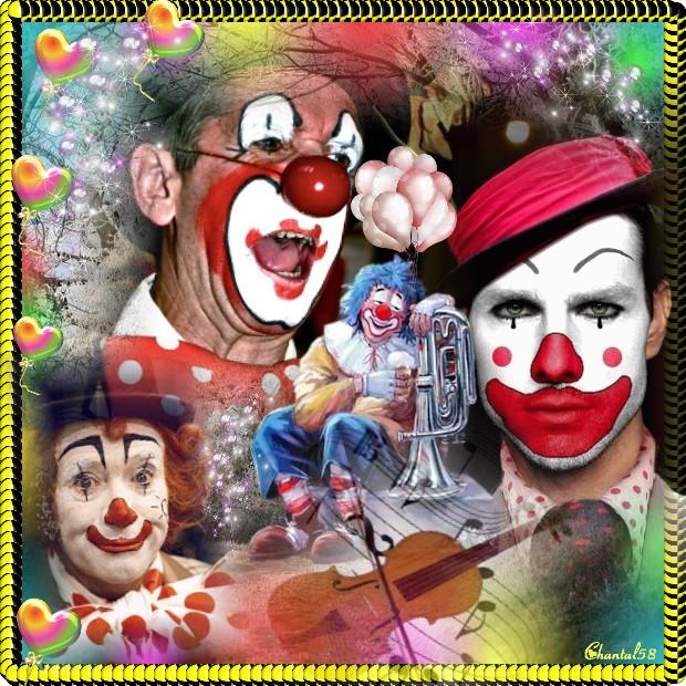 Les clowns  Cadre012