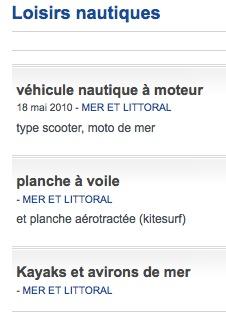 """Arrêté du 28 avril 2014 & """"Planche à pagaie"""" Captu124"""