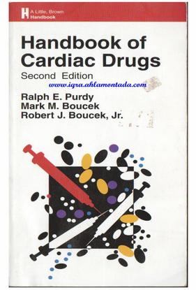 Handbook of Cardiac Drugs - By Ralph E. Purdy. Mark M. Boucek & Robert J. Boucek, jr 61913