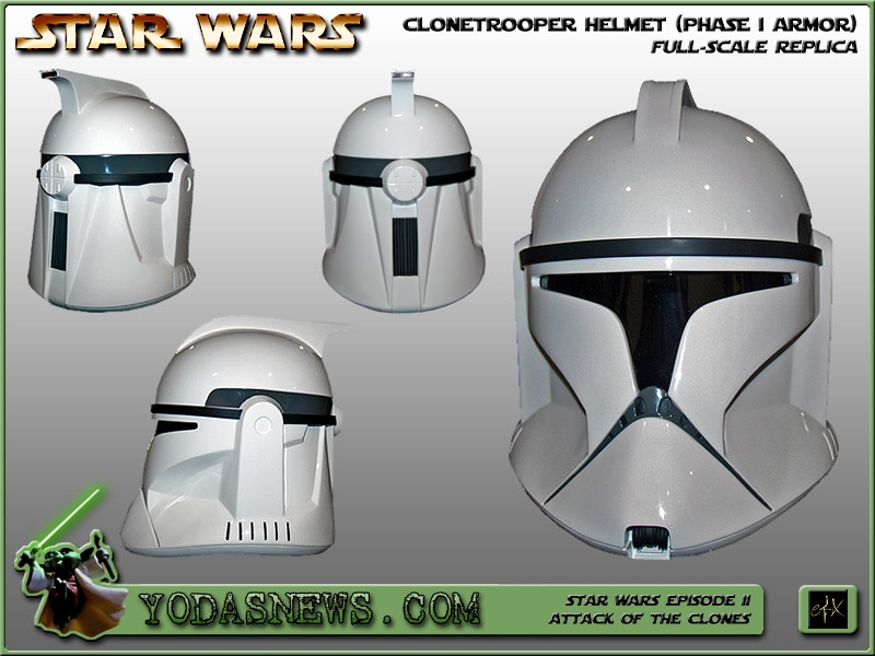 CUSTOMISATION CASQUE CLONE HASBRO 0111