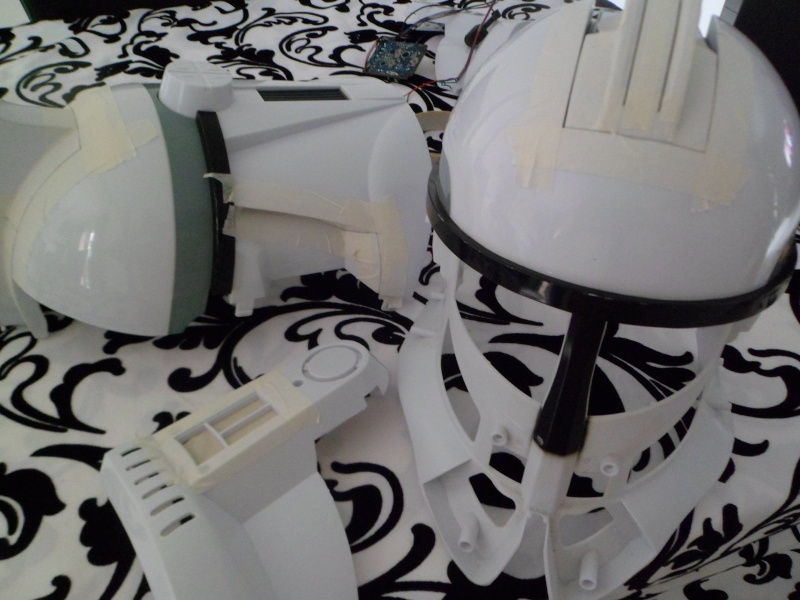 CUSTOMISATION CASQUE CLONE HASBRO 01310