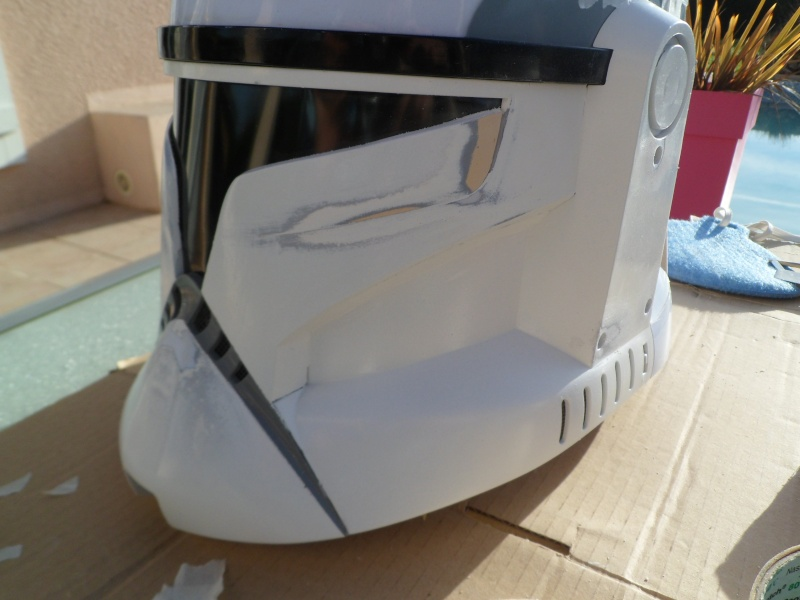 CUSTOMISATION CASQUE CLONE HASBRO 04110