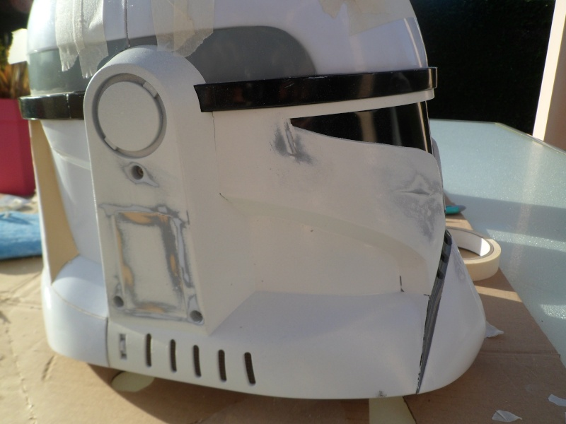 CUSTOMISATION CASQUE CLONE HASBRO 04310