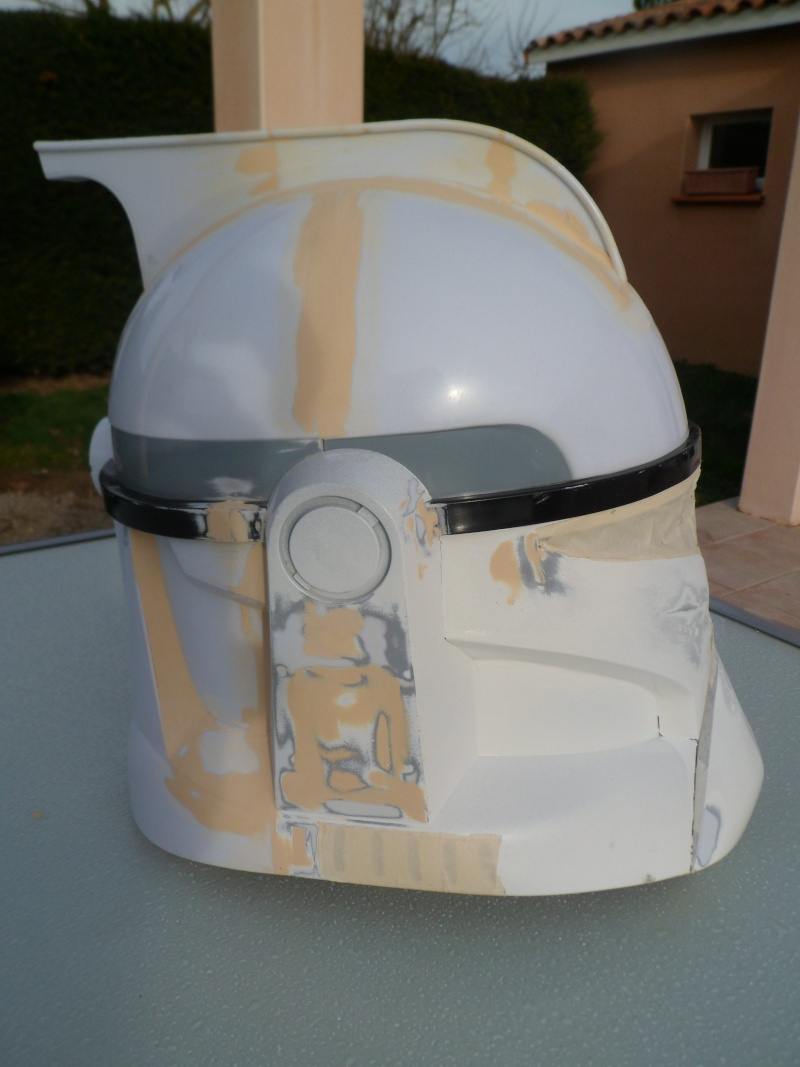 CUSTOMISATION CASQUE CLONE HASBRO 05210