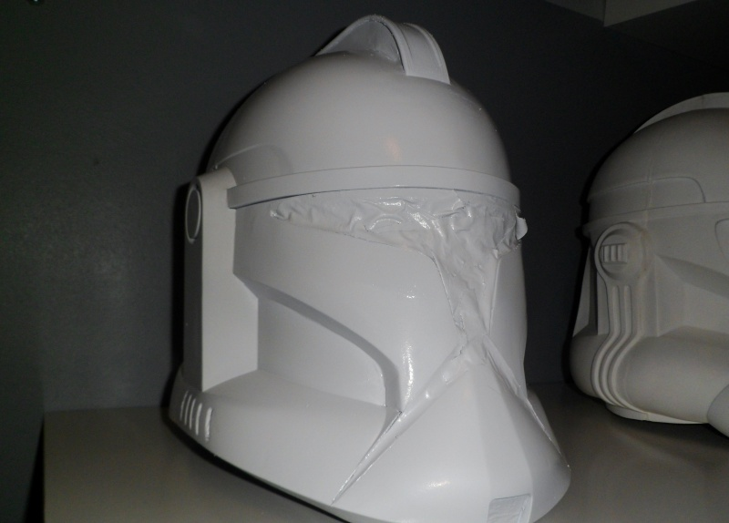 CUSTOMISATION CASQUE CLONE HASBRO 05610