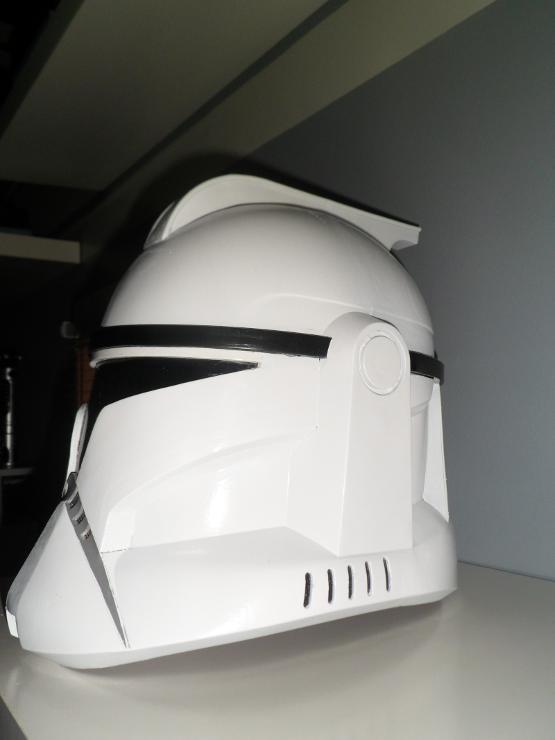 CUSTOMISATION CASQUE CLONE HASBRO 05710