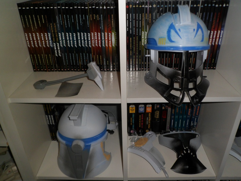 CUSTOMISATION CASQUE CLONE HASBRO 06510