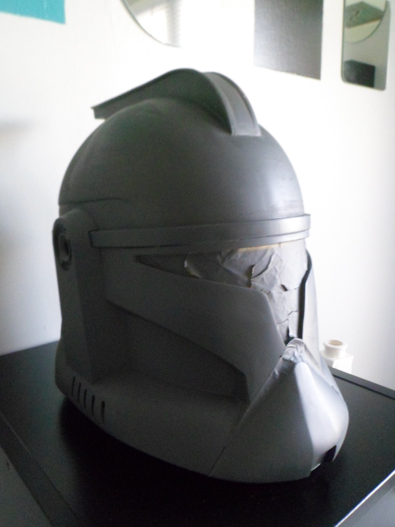 CUSTOMISATION CASQUE CLONE HASBRO 07611