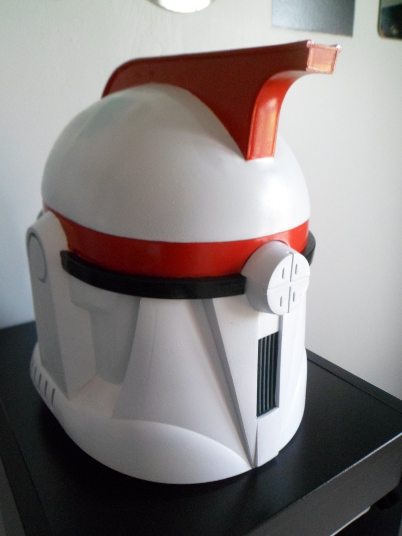 CUSTOMISATION CASQUE CLONE HASBRO 08011