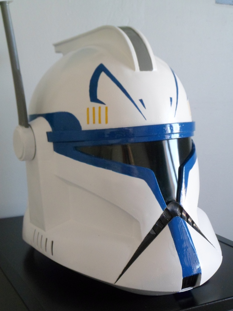 CUSTOMISATION CASQUE CLONE HASBRO 08110
