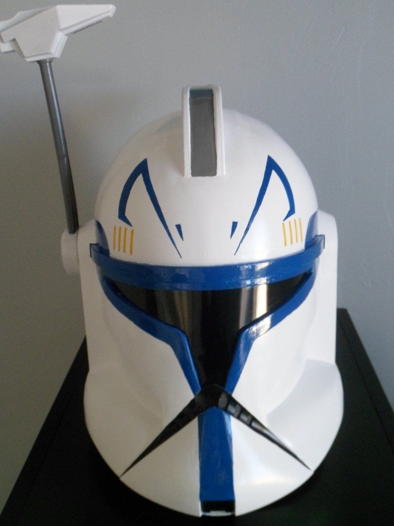 CUSTOMISATION CASQUE CLONE HASBRO 08310