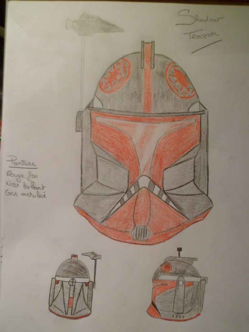 CUSTOMISATION CASQUE CLONE HASBRO 08610