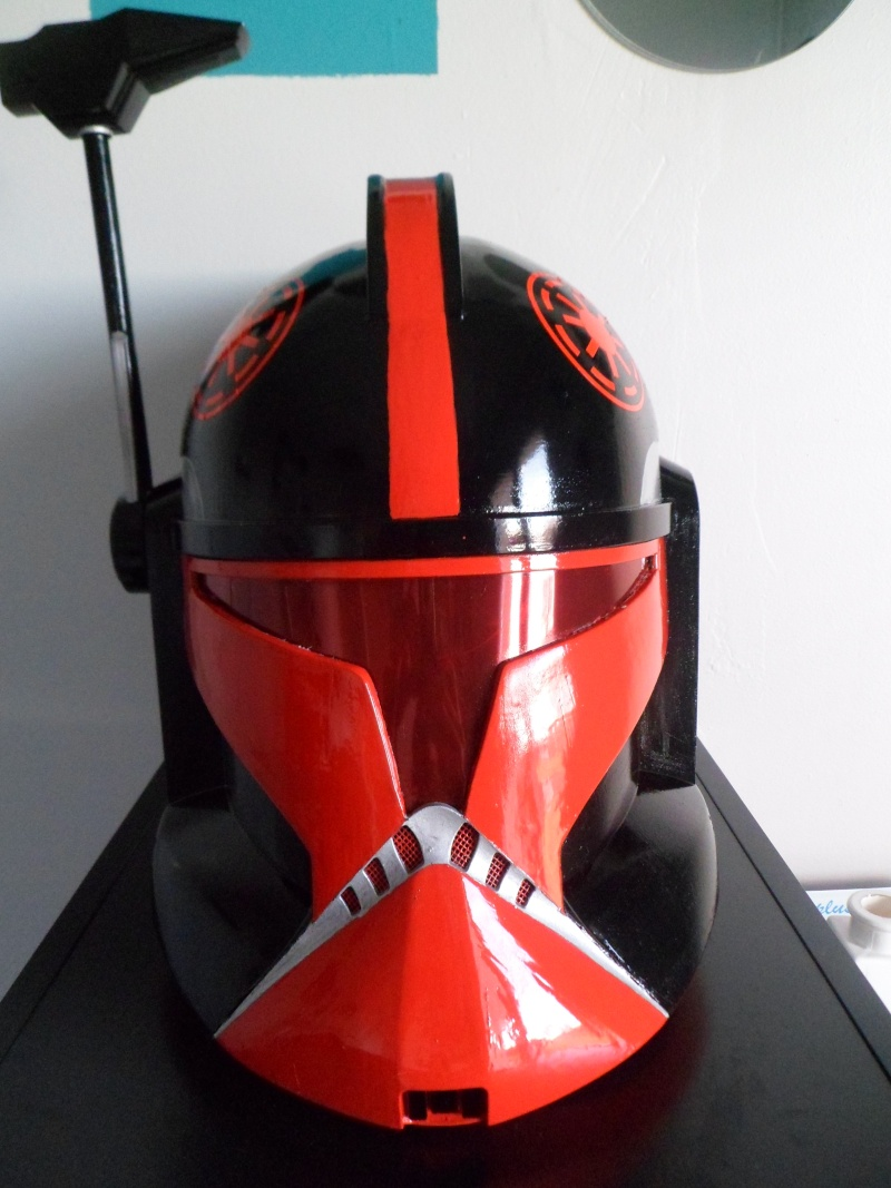 CUSTOMISATION CASQUE CLONE HASBRO 09010