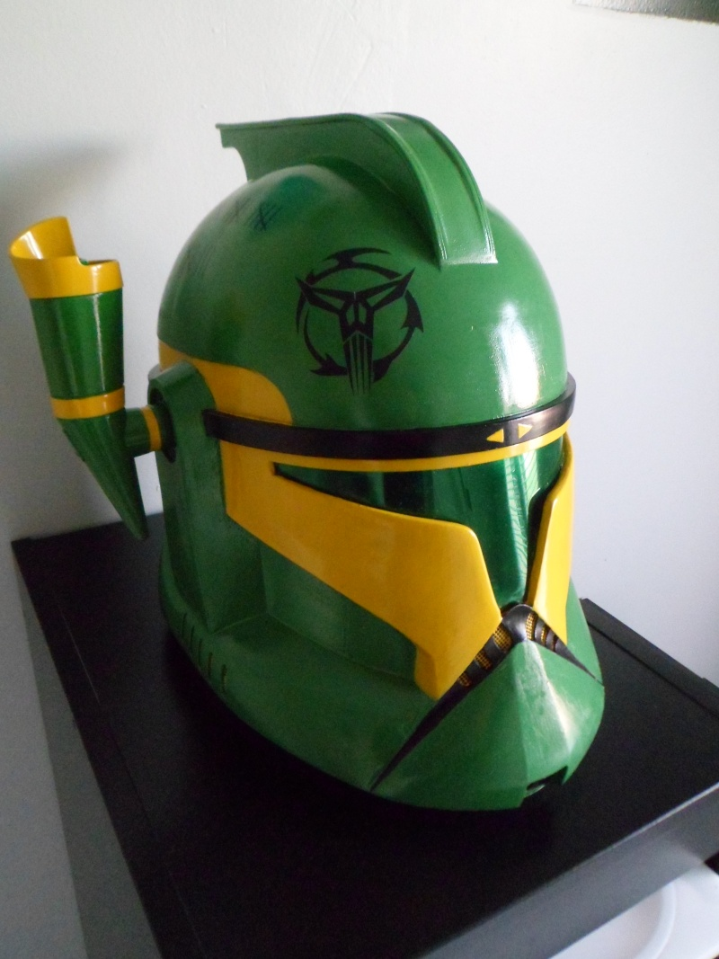 CUSTOMISATION CASQUE CLONE HASBRO 09510