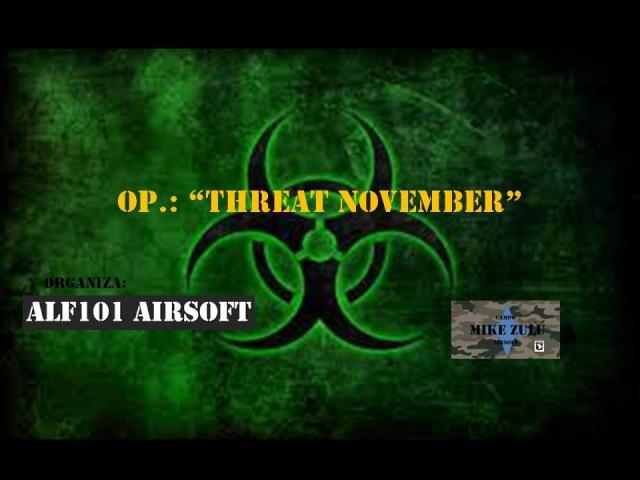 """Op """"Threat November"""" 01/07/14 Threat11"""