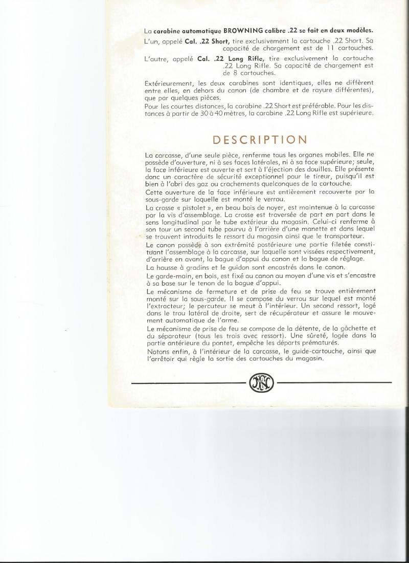 Recherche informations à propos de cette BROWNING AUTO FN calibre 22 LR - Page 2 Scan0012