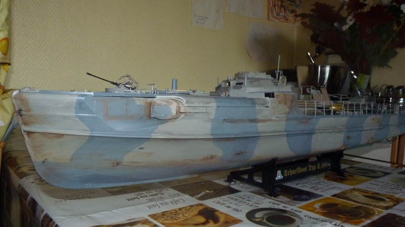 schnellboot s-100 ITALERI 1/35 transformable RC - Page 3 P1020814