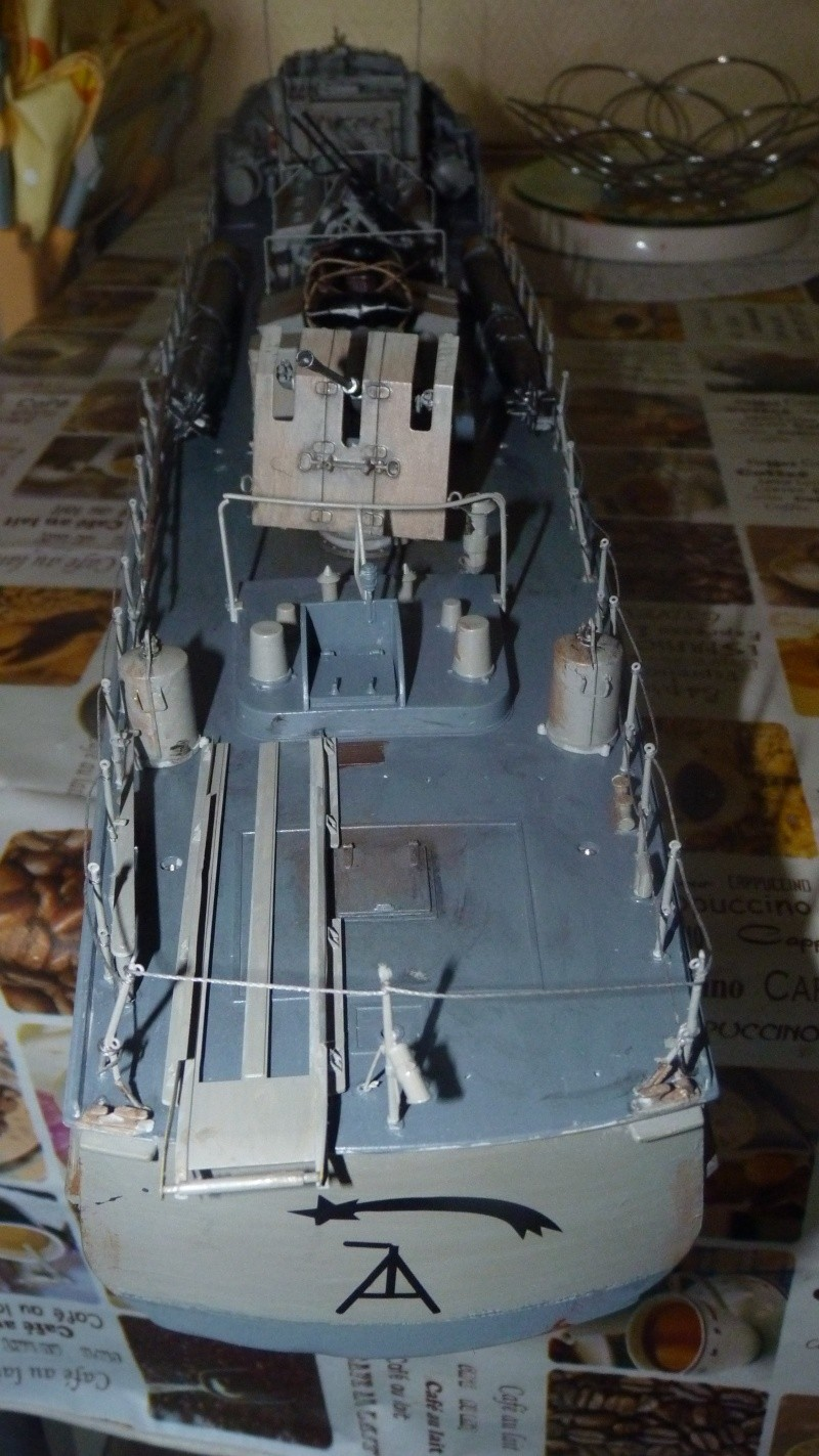 schnellboot s-100 ITALERI 1/35 transformable RC - Page 3 P1020818