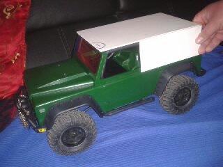 Mon AXIAL SCX10 Dingo Galaxy12