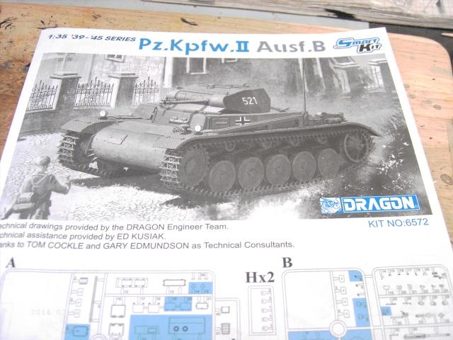 Pz.Kpfw. II Ausf. B in 1:35 von Dragon Pict3312
