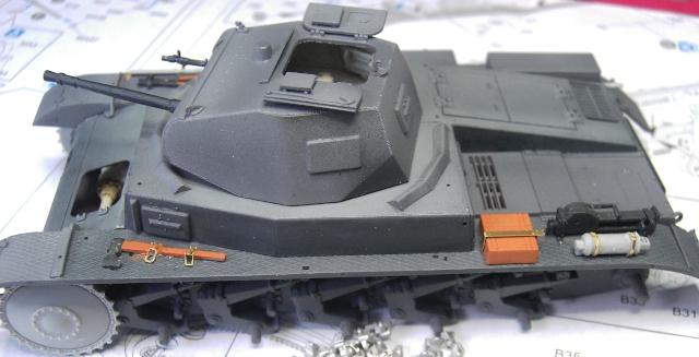 Pz.Kpfw. II Ausf. B in 1:35 von Dragon Pict3342