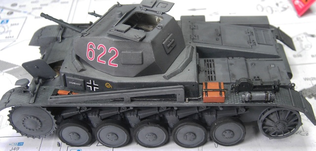 Pz.Kpfw. II Ausf. B in 1:35 von Dragon Pict3343