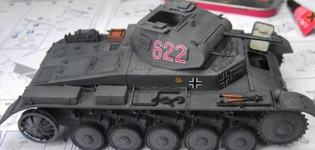 Pz.Kpfw. II Ausf. B in 1:35 von Dragon Pict3344
