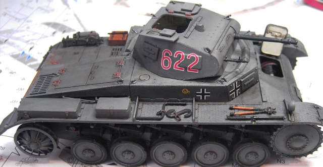 Pz.Kpfw. II Ausf. B in 1:35 von Dragon Pict3345