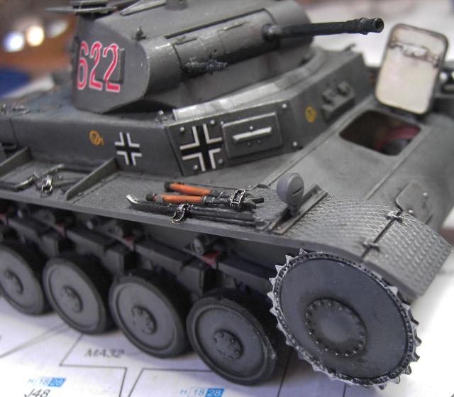 Pz.Kpfw. II Ausf. B in 1:35 von Dragon Pict3349