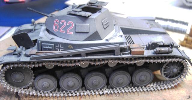Pz.Kpfw. II Ausf. B in 1:35 von Dragon Pict3412