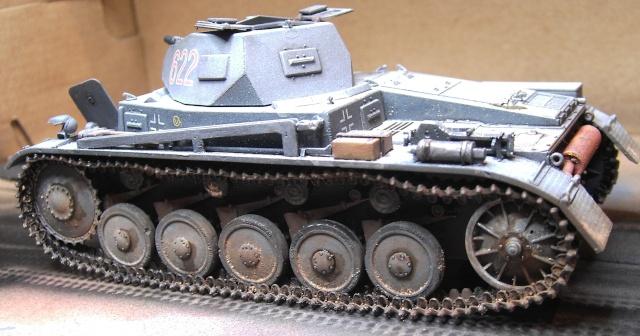 Pz.Kpfw. II Ausf. B in 1:35 von Dragon Pict3416