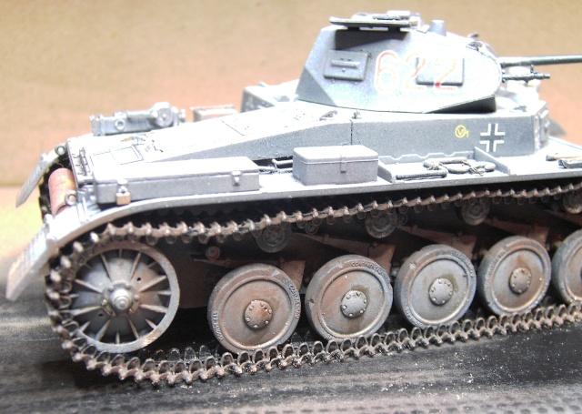 Pz.Kpfw. II Ausf. B in 1:35 von Dragon Pict3418