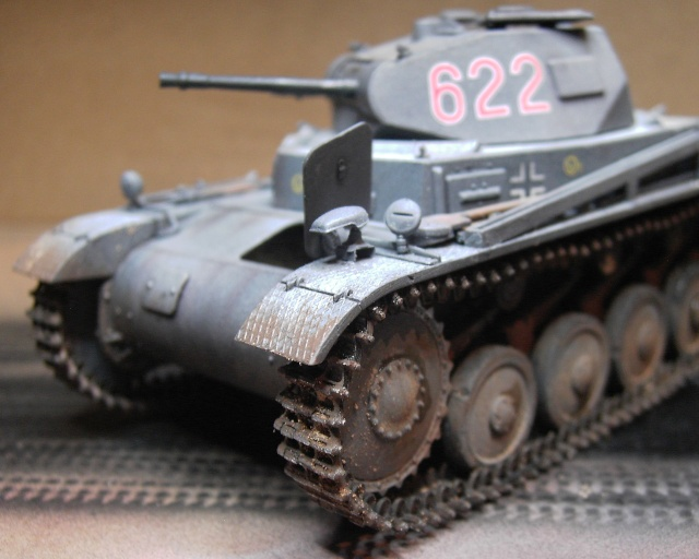 Pz.Kpfw. II Ausf. B in 1:35 von Dragon Pict3419