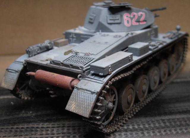 Pz.Kpfw. II Ausf. B in 1:35 von Dragon Pict3420