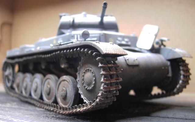 Pz.Kpfw. II Ausf. B in 1:35 von Dragon Pict3422