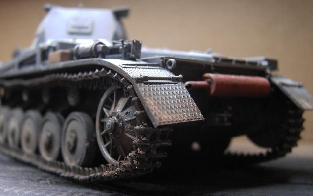 Pz.Kpfw. II Ausf. B in 1:35 von Dragon Pict3423