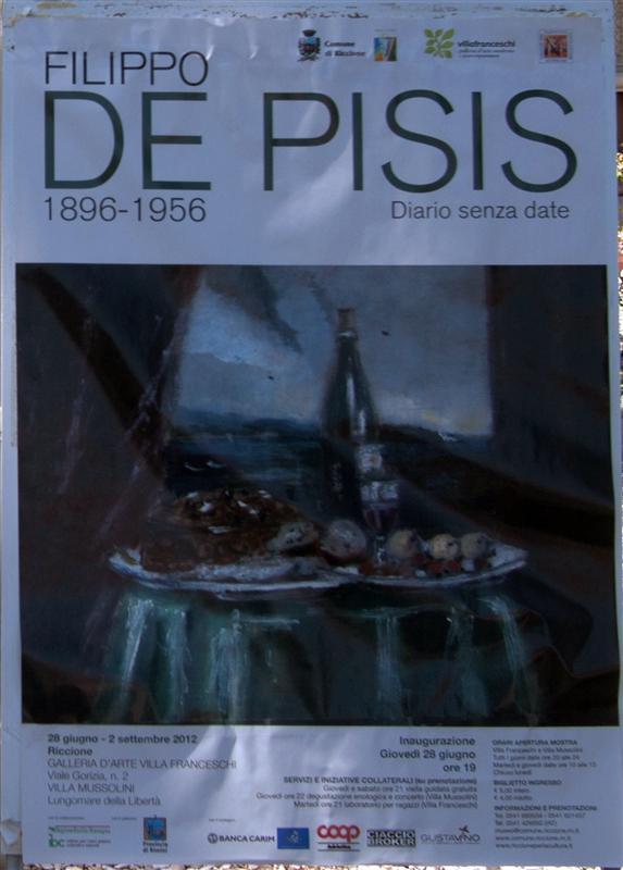 Filippo De Pisis in Mostra a Riccione - Estate 2012 113