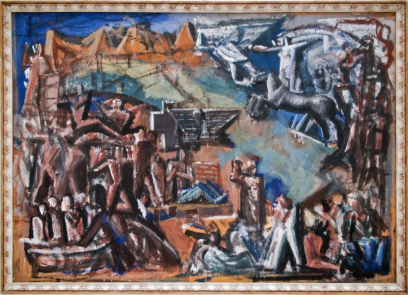 Mostra di Sironi al Creberg 1511